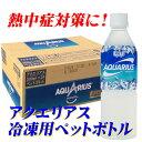 コカ・コーラ アクエリアス 冷凍用ペット 490ml × 24本 【常温発送】