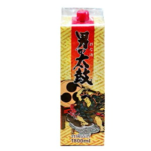 【料理酒】男の太鼓 パック 1.8L (1800ml)※6本まで1個口にて発送可能