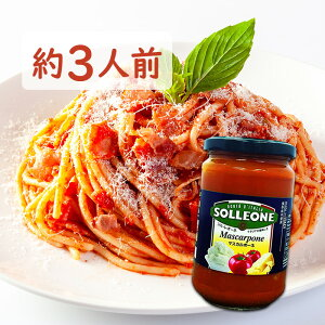 ソル・レオーネ トマトソース マスカルポーネ300g パスタソース SOLLEONE Mascarpone 日欧(ソルレオーネ ピザソース サラダ ハンバーグソース 鶏肉ソース じゃがいもソース オムライスソース オ