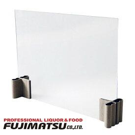 飛沫感染防止パネル テーブルマスク (ボード:60×45cm) 昭和丸筒 x 1セット