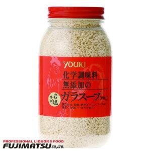 【ユウキ食品】化学調味料無添加のガラスープ 400g YOUKI 業務用