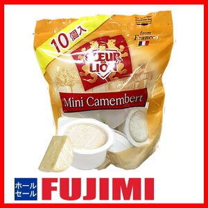 特売 (クール便)COEUR DE LION ミニカマンベール 10個 250g 1056円 【 クール ド リオン Camembert 個包装 costco コストコ 】