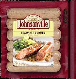 (クール便)Johnsonville LEMON&PEPPEP 396g ×2袋 1399円【 ジョンソンヴィル レモン ソーセージ Costco costco コストコ 通販 】