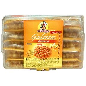(冷凍便)milcamps ベルギー バターワッフル 25g×2枚×14袋 1452円【 コストコ costco 】