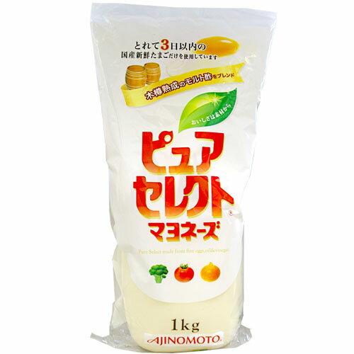 味の素 ピュアセレクト マヨネーズ 1kg 1本 621円