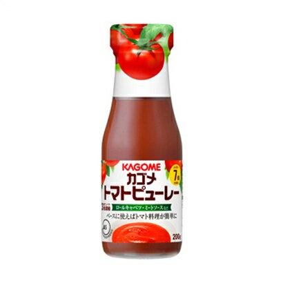 カゴメ トマトピューレー 200g 1個 154円