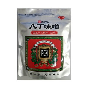 カクキュー 国産大豆 八丁味噌 銀袋 300g 400円