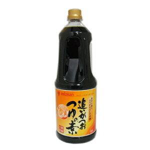 ミツカン  追いがつおつゆの素 1.8L 業務用 ペットボトル 520円