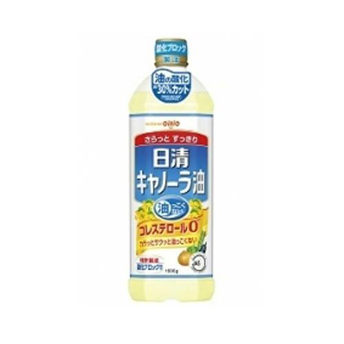 最安値に挑戦 日清オイリオ キャノーラ油 1000g 8本 1832円