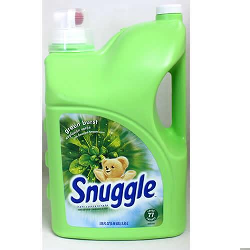 特売 スナッグル グリーンバースト 5.55L 1228円【Snuggle green burst 188oz,柔軟材,洗濯用品 costco コストコ 】