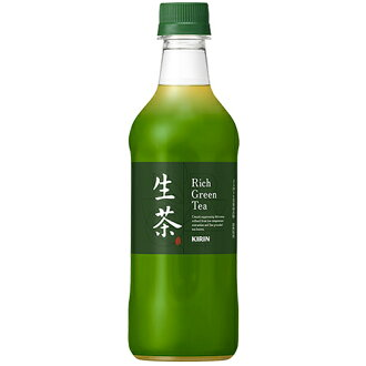 Kirin draft tea (namacha) 108-109 Yen 500 ml PET bottle
