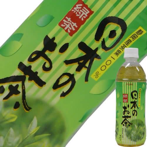特売 POM ポン 日本のお茶 緑茶 500ml 24本セット 1296円