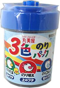 【佐川送料無料(一部地域を除く)】丸美屋 3色のりパック 52g×10個 2995円