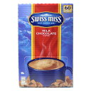 スイスミス ミルク チョコレート 1680g (28gX60袋) 1585円 【 SWISSMISS RICH CHOCOLATE チョコ ドリンク 粉末 ココア…