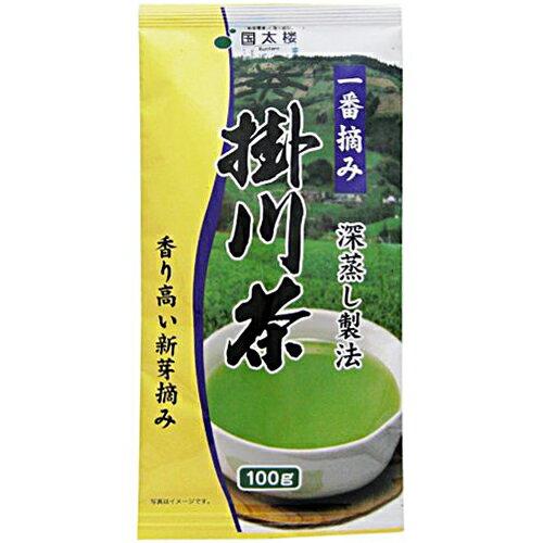 国太楼 深蒸し製法 一番摘み 掛川茶 100g 900円