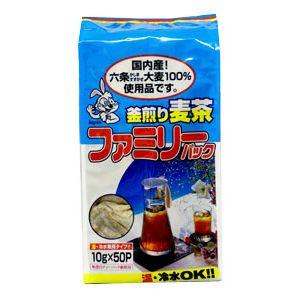 伊勢惣 釜煎り麦茶 ファミリーパック 10gx50p 280円