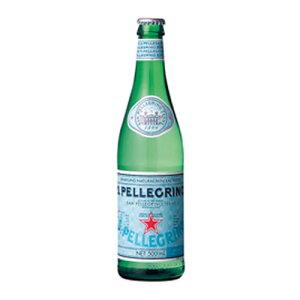モンテ物産 サンペレグリノ 500ml瓶 280円x24本 6720円【 イタリア 炭酸水 スパークリングウォーター 】