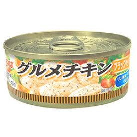 いなば グルメチキン缶 ブラックペッパー入り 120g 1缶 112円 【 Twitter,ブログ,缶詰,inaba,鶏肉,ちきん 】