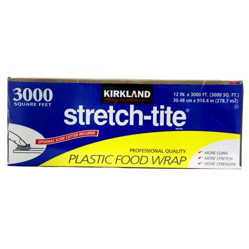 KIRKLAND Signature Stretch Tite Plastic Food Wrap 30.48cm×914.4m 2537円【レジ00208733】【 コストコ カークランド シグネチャー ストレッチ タイト プラスチック フード ラップ Costco サランラップ 】