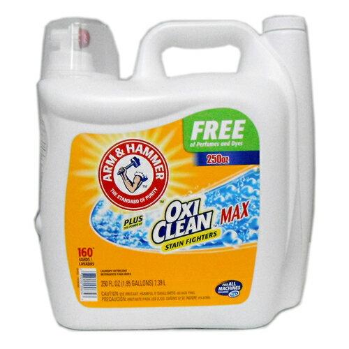 【液体洗剤】アームアンドハンマー 液体洗剤 プラスオキシクリーンマックス 7.39L 2114円【 ARM&HAMMER OXI CLEAN MAX 洗濯洗剤 コストコ costco 】