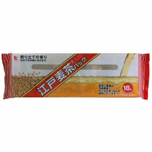 ヒタチヤ 江戸麦茶 パック 18袋入 191円 【お徳用,訳あり,大量入荷,激安】