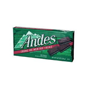 【送料無料(ネコポス)】【チョコ】アンデス クリームミント シン 132g×4個 1563円【Andes】