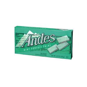 【送料無料(ネコポス)】【チョコ】アンデス ミントパフェ シン  132g×4個 1563円【 Andes 】