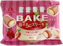【送料無料(ゆうパケット,クリックポスト)】森永 BAKE 苺のチーズケーキ味 10粒x10袋セット 1481円