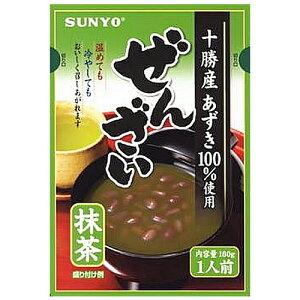 サンヨー堂 抹茶ぜんざい 160g 1袋 105円 【 SUNYO 】
