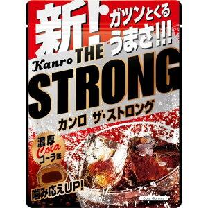 【送料無料(ネコポス)】カンロ ザ・ストロンググミ濃厚コーラ味 70g×6袋 【 KANRO グミ 】