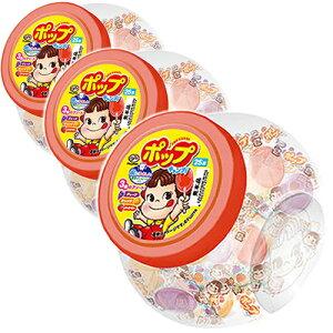 FUJIYA 容器入り ポップキャンディ 25本入 550円×3個 1650円【 不二家 ペコちゃん 飴 】
