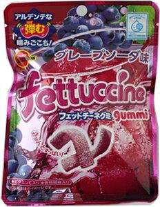 フェットチーネグミ グレープソーダ味 10袋