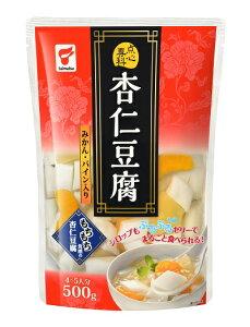 【佐川送料無料(一部地域を除く)】たいまつ食品 点心専科 杏仁豆腐 500g×4袋セット