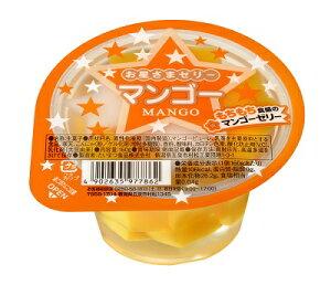 たいまつ食品 お星さまゼリー マンゴー 160g×12個セット 【 果物ゼリー カップ 】