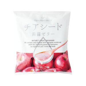 チアシード蒟蒻ゼリーりんご味