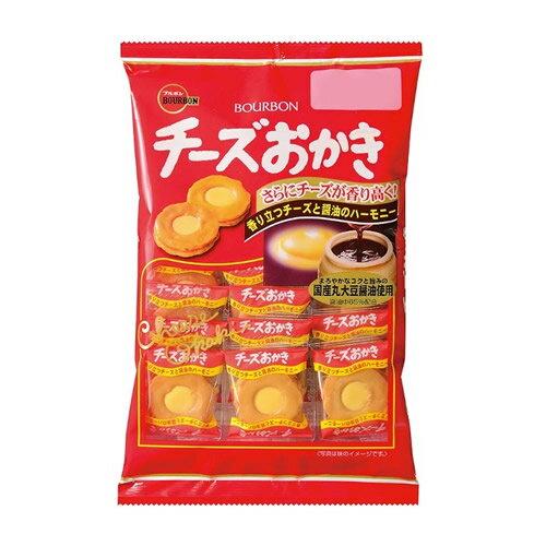 ブルボン チーズおかき 22枚入 1袋 262円【 BOURBON 米菓 】