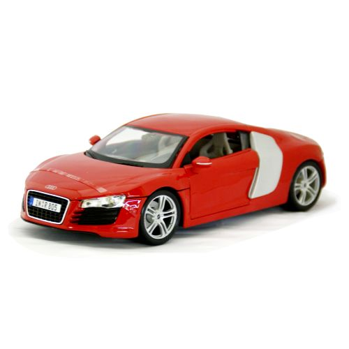Audi R8 Red Maisto 1/18 8241円 【アウディ,赤,ダイキャストカー,スーパーカー,マイスト,ミニカー】【コンビニ受取対応商品】