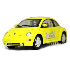 """New Beetle """"Coca Cola"""" 1/18 MatchBox Collectiblrs yellow 12000円 【ミニカー,ワーゲン ニュー ビートル マッチボックス ,コカコーラ】【コンビニ受取対応商品】"""