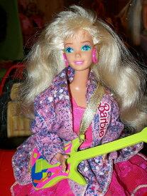 バービー Barbie and the Beat with Glow in the Dark Costume 7200円 【音楽 コンサート 演奏 ギター ビート グロー ダーク コスチューム】【コンビニ受取対応商品】