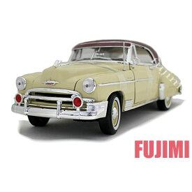 1950 CHEVY BELAIR yel 1/18 American Classics MOTOR MAX 7593円【シボレー ベルエア 黄 ミニカー クラシック アメ車 Chevrolet】【コンビニ受取対応商品】