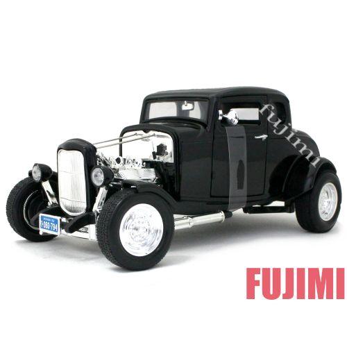 1932 FORD HOT ROD blk 1/18 MOTOR MAX American Classics 7315円【 フォード ホットロッド クーペ アメリカ ダイキャストカー ミニカー クラシック HOTROD カスタム 所ジョージ 世田谷ベース 】【コンビニ受取対応商品】
