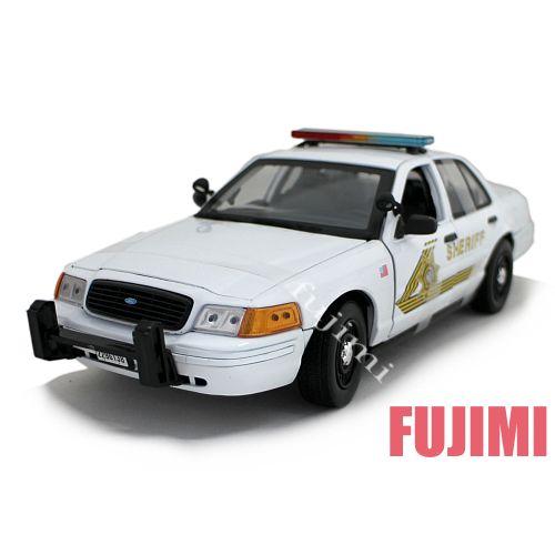San Bernardino County Sheriff wht 1/18 MOTOR MAX 8241円【アメリカン ポリス 警察 ミニカー パトカー サンバーナーディーノー 保安官 シェリフ POLICE 】【コンビニ受取対応商品】