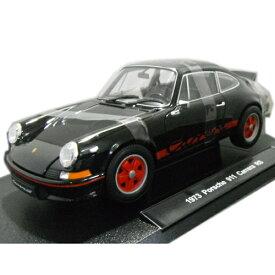 ミニカー 1973 Porsche 911 Carrera RS Black 1/18 WELLY 7871円 【 ポルシェ カレラ ブラック 黒 ウェリー ミニカー ダイキャストカー ナロー 】【150911】【コンビニ受取対応商品】