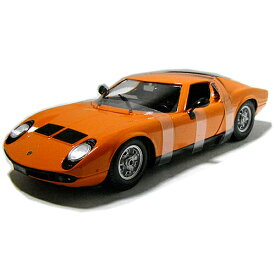 1968 Lamborghini MIURA org 1/18 Bburago 【 ミウラ ランボルギーニ オレンジ スーパーカー ミニカー ブラーゴ ダイキャストカー サーキットの狼 飛鳥 】
