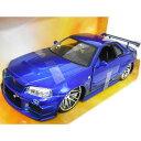 FAST AND FURIOUS BRIAN'S NISSAN Skyline GT-R R34 1/24 BL JADA 3889円 【 ワイルド スピード ...