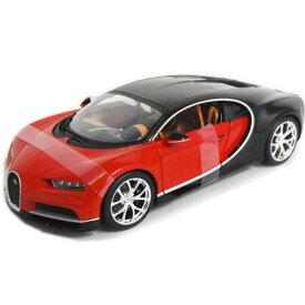 Bugatti Chiron Red 1/18 Maisto 【 ブガッティ シロン ミニカー マイスト ダイキャストカー スーパーカー ヴェイロン 】