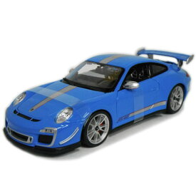 Porsche 911 GT3 RS 4.0 Blue 1/18 Maisto 【ポルシェ 青 ブルー マイスト ミニカー ダイキャストカー】【151028】
