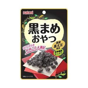 なとり 黒まめおやつ 25g 90円×10袋 900円【豆 国産黒大豆使用 乾燥黒豆】