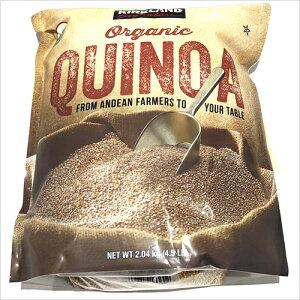 カークランドシグネチャー オーガニックキヌア 2.04kg【KS Organic Quinoa 有機 スーパーフード コストコ costco 】
