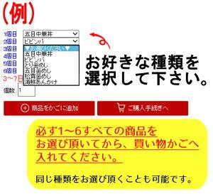 丸美屋ごはん付きシリーズ選べるセット【6食】